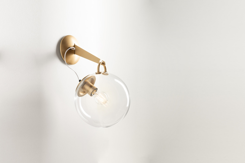 by ernesto gismondi for artemide, the miconos pendant light comes in gold (show 11
