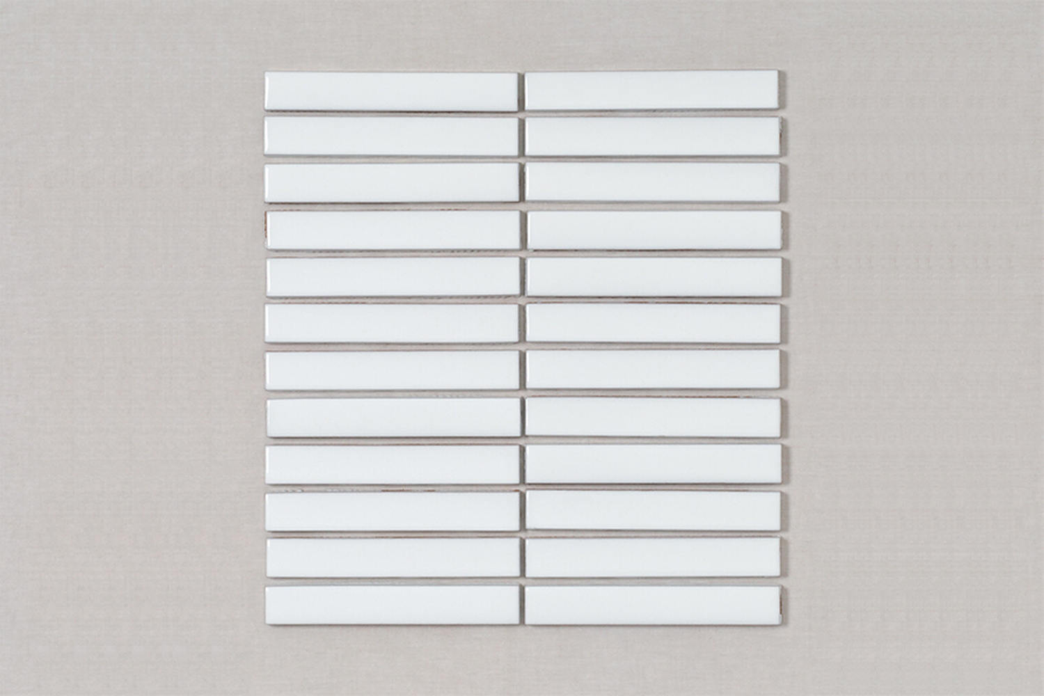 barnoon utilized fireclay tile&#8\2\17;s \1 x 6 sheeted tile seen here; \$4 12