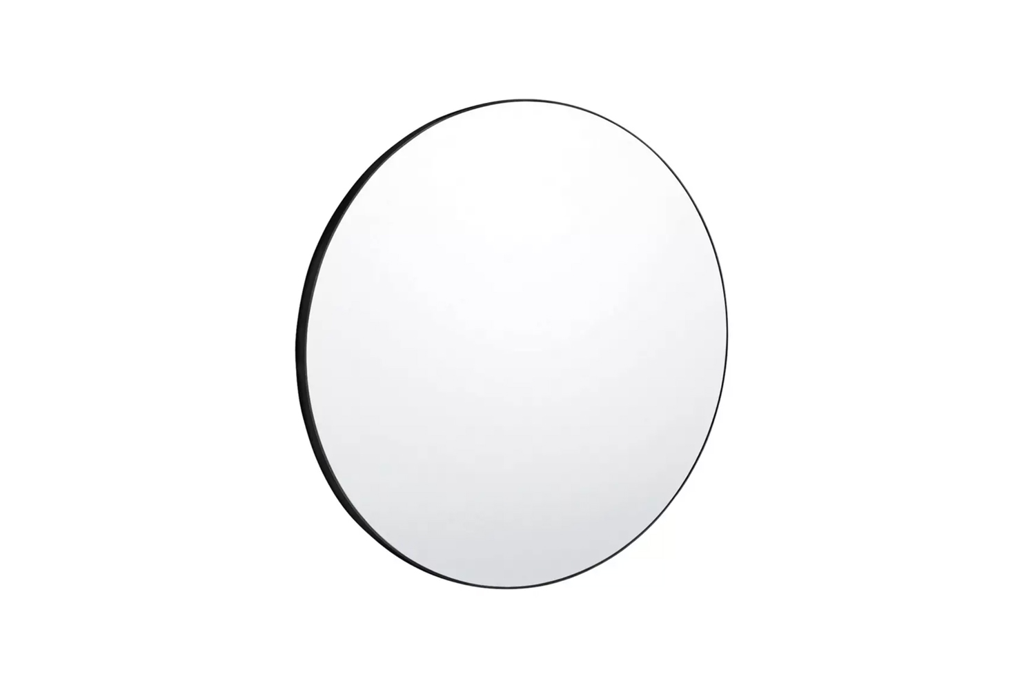 the patsy extra large round black wall mirror is £\295 at habitat in the uk. 19