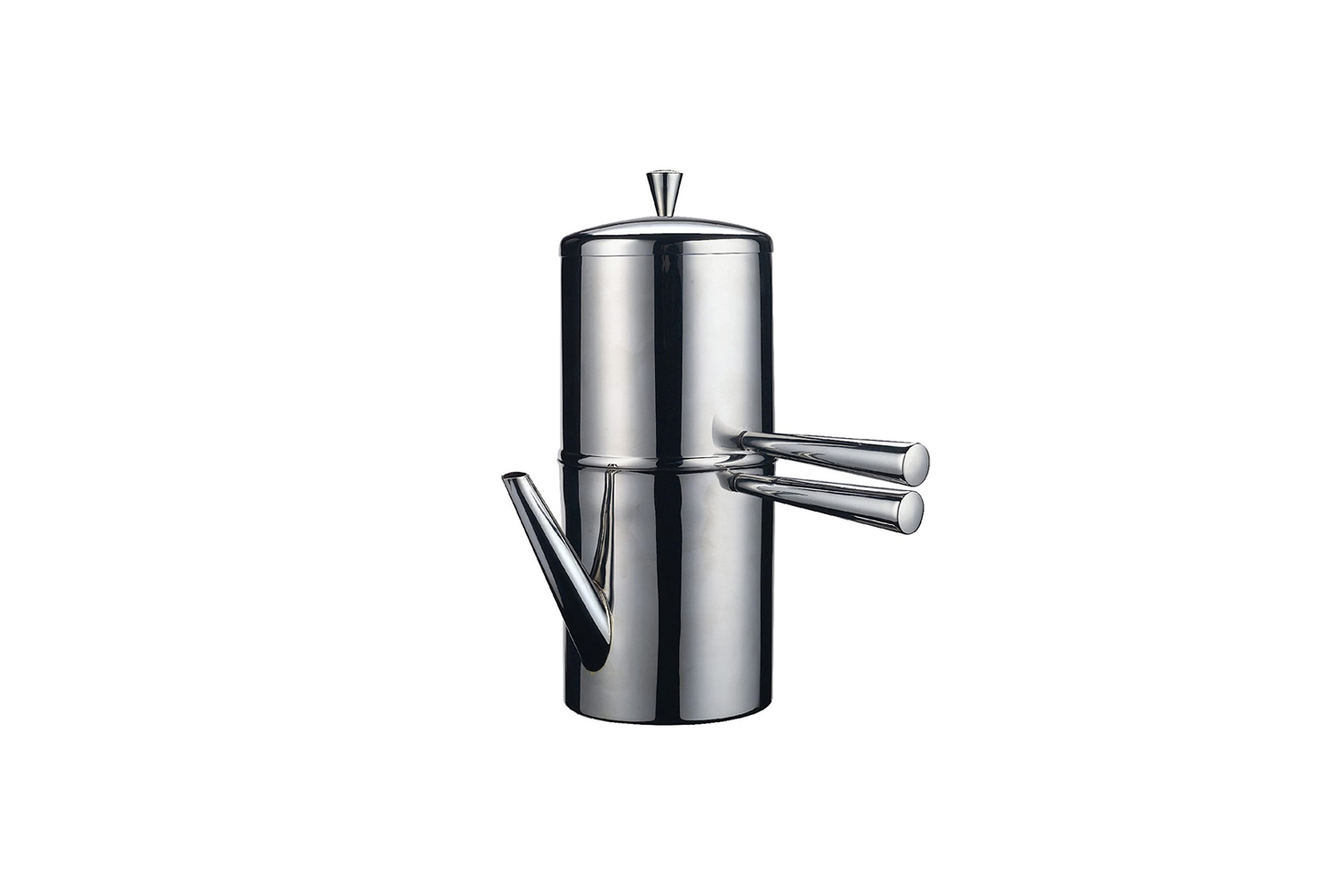 the ilsa stainless steel neapolitan drip coffee maker works by the drip method. 18