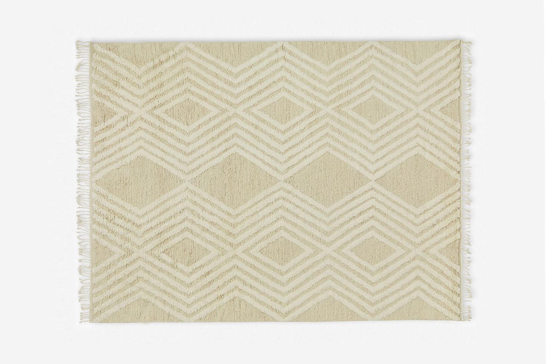 the jenni kanye x lulu georgia cabin rug is \$\2,995. 24