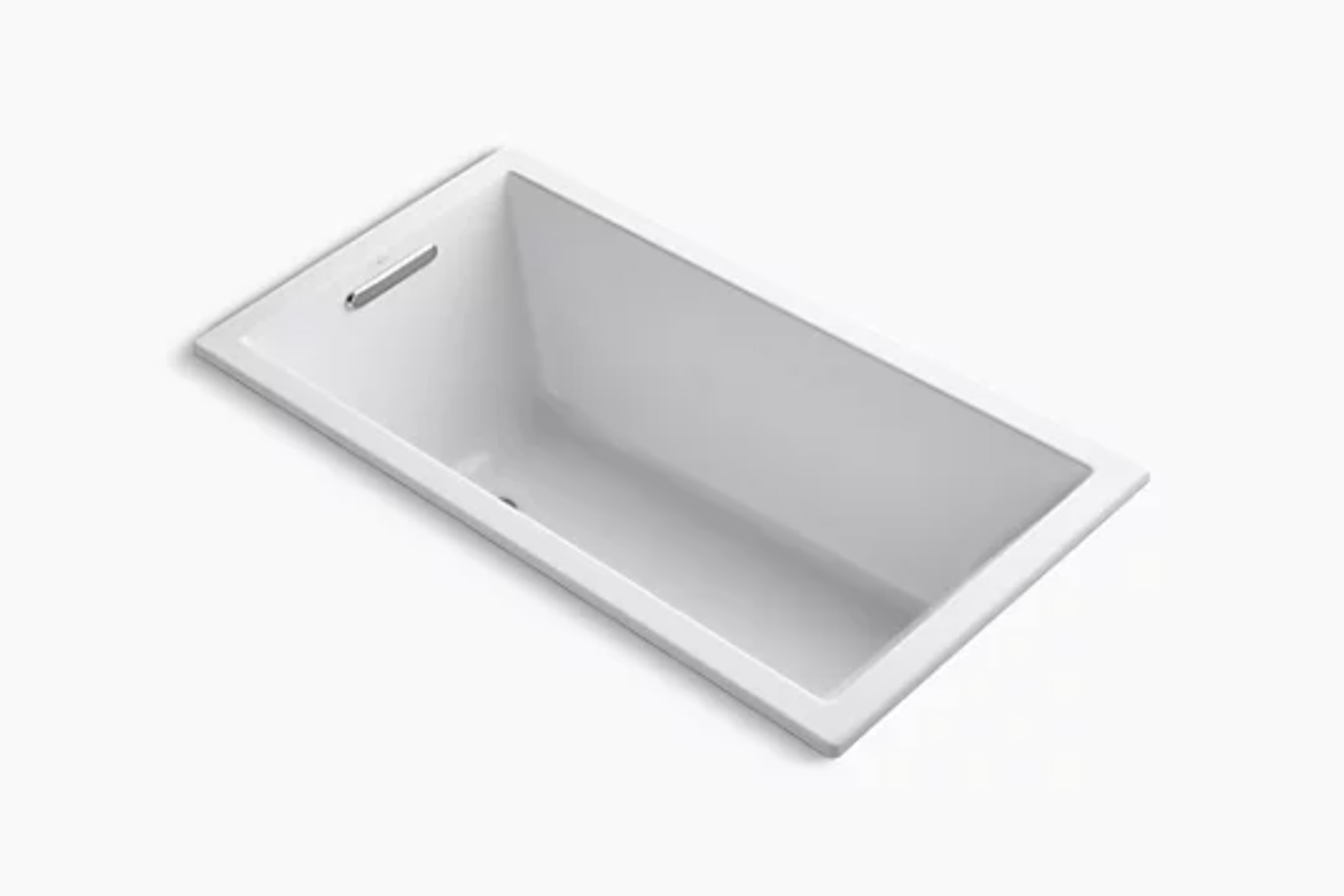 the kohler underscore rectangle drop in bath is a similar style; \$\1,438 at ko 16