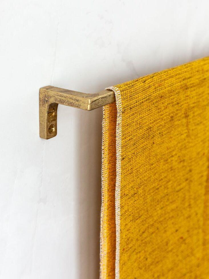 muro kanamono towel bar brass