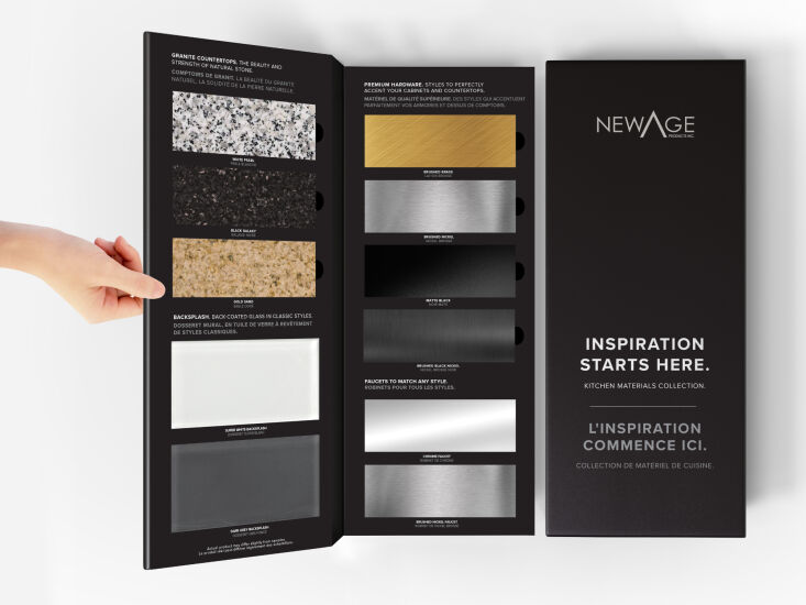 sample kits let you see and feel materials before you buy. 14
