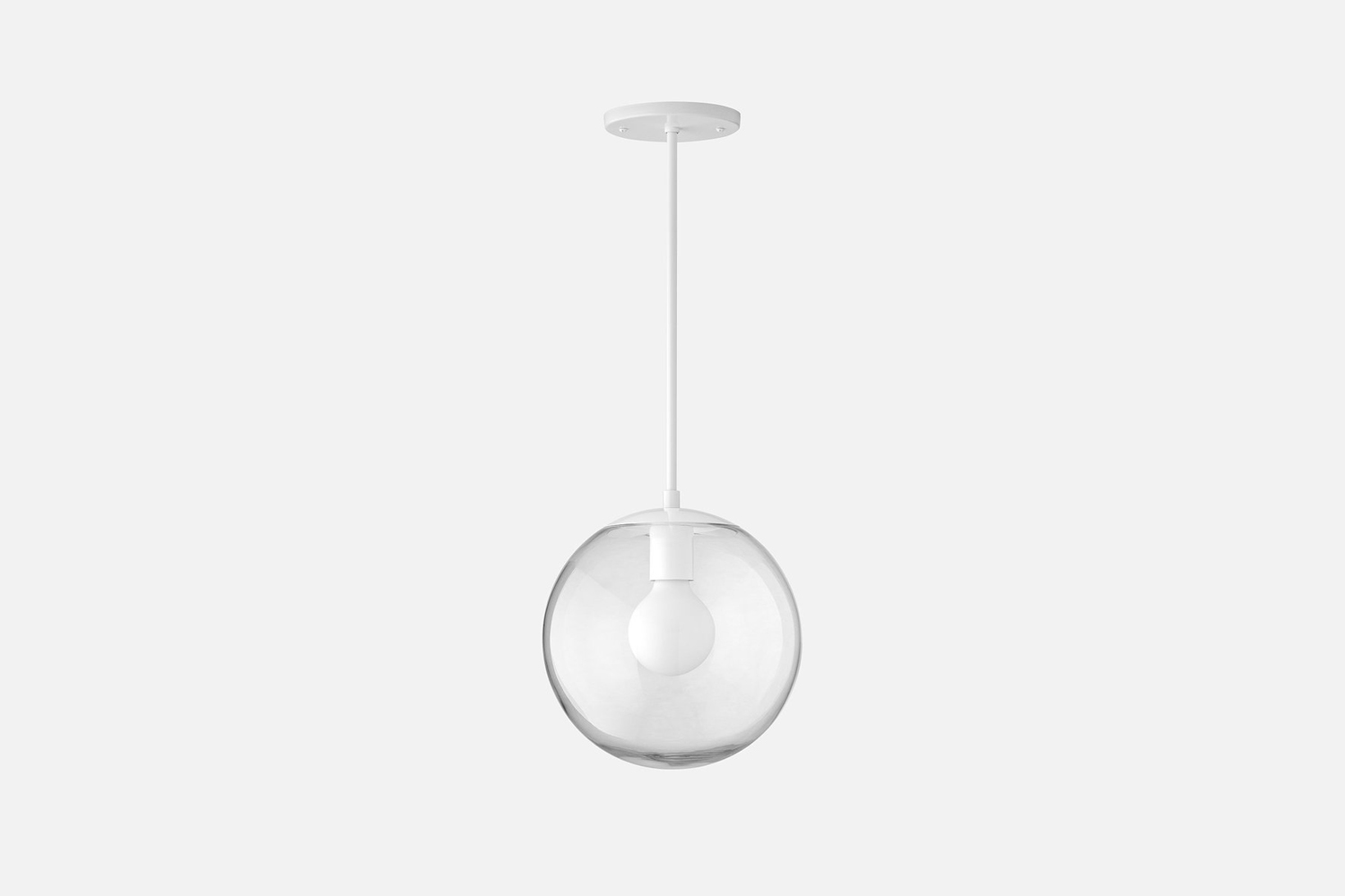the schoolhouse luna cord pendant lamp with 6 inch shade is \$\299. the style i 13