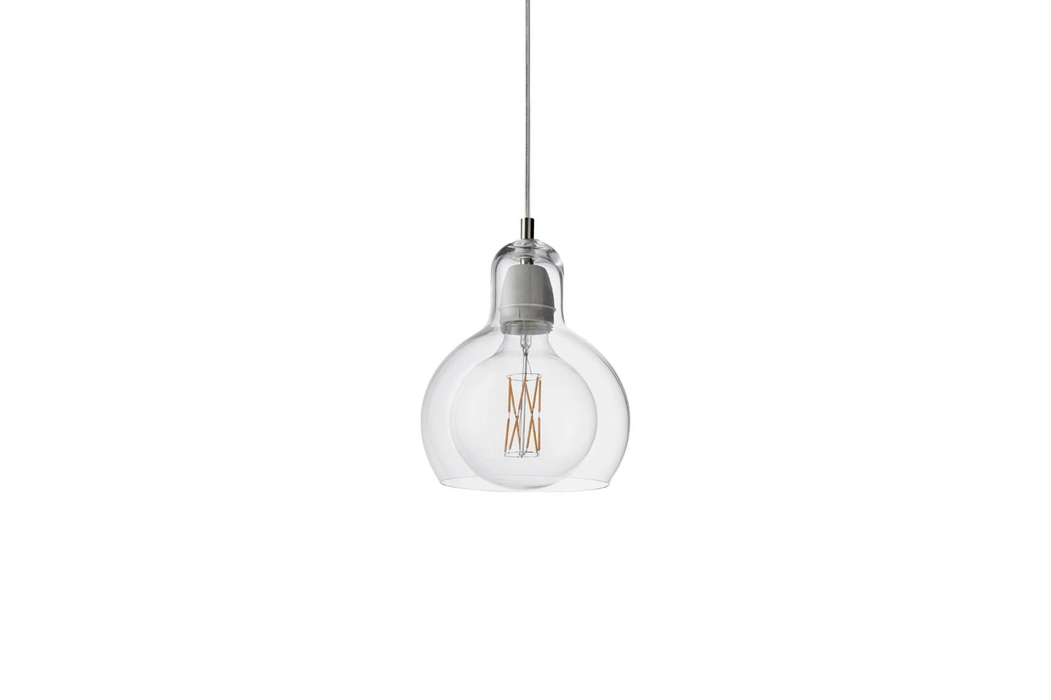 designed by sofie refer and reproduced through &tradition, the mega bulb sr 10