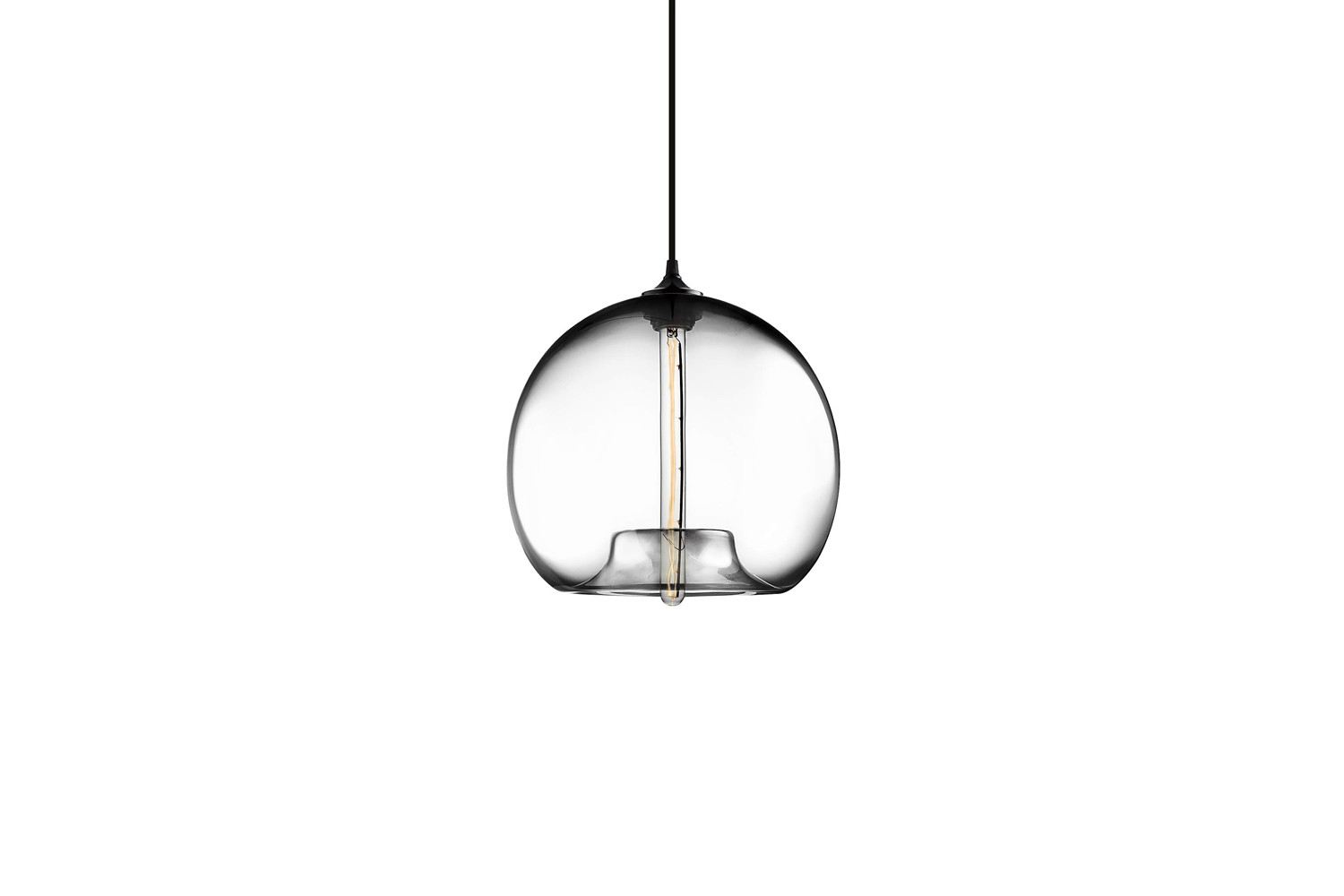 the stamen crystal hand blown glass pendant light is \$\1,\250 at crate & b 17