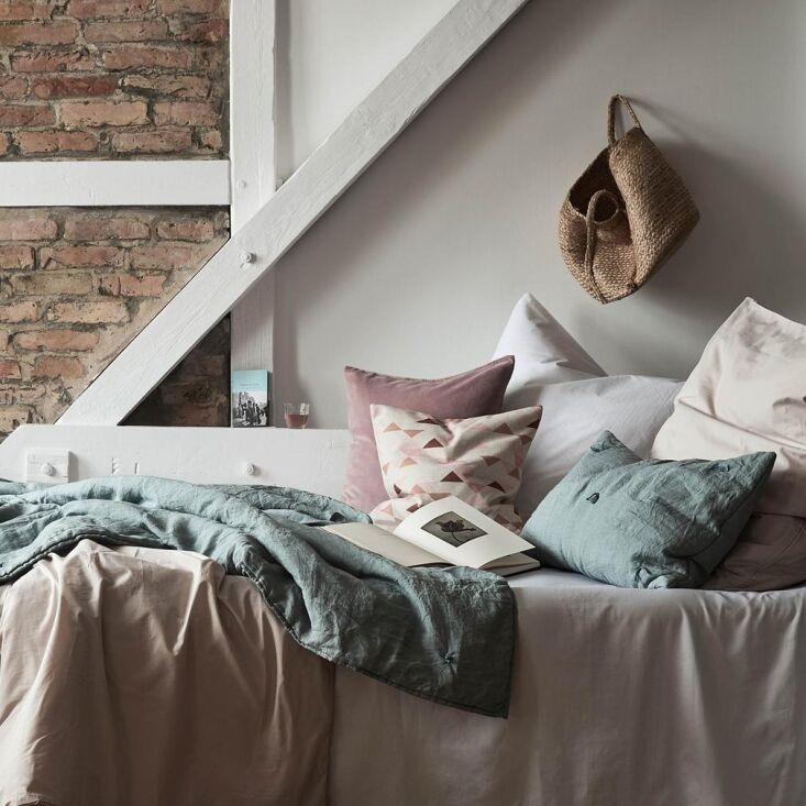new, breathable manteigas bedding is made from \100 percent organic cotton; no  13