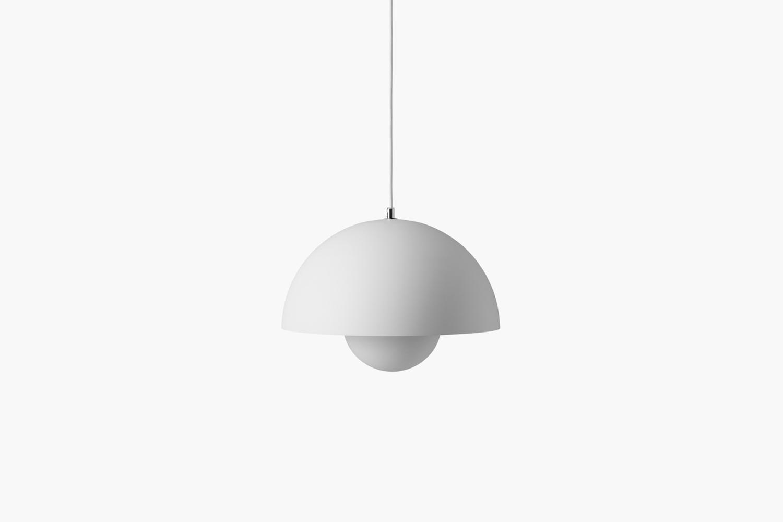 the verner panton flowerpot vp7 pendant light in glossy white is \$7\23 to \$83 15
