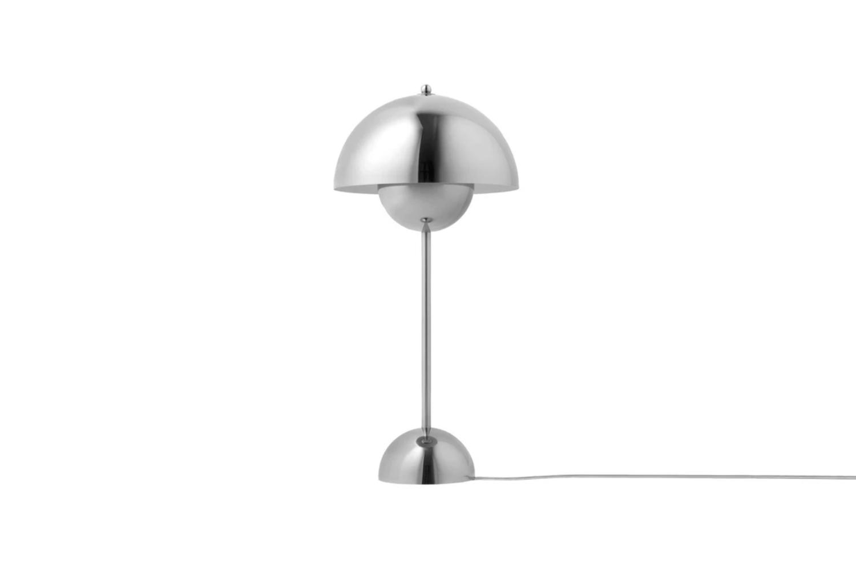 the verner panton vp3 flowerpot table lamp is \$690 at danish design store. 14