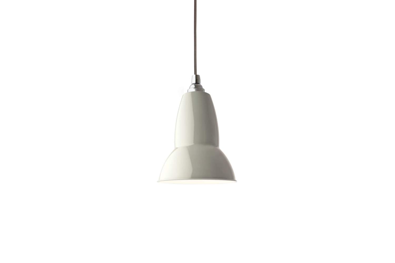 the anglepoise original \1\2\27 pendant light, shown in linen white, is \$\130  9