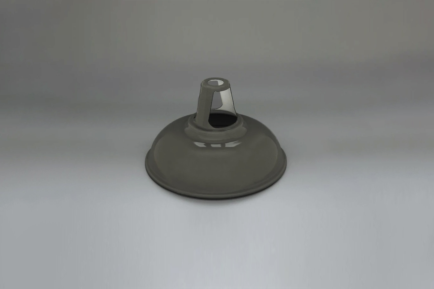 the labour & wait enamel lampshade in grey is £65. 16