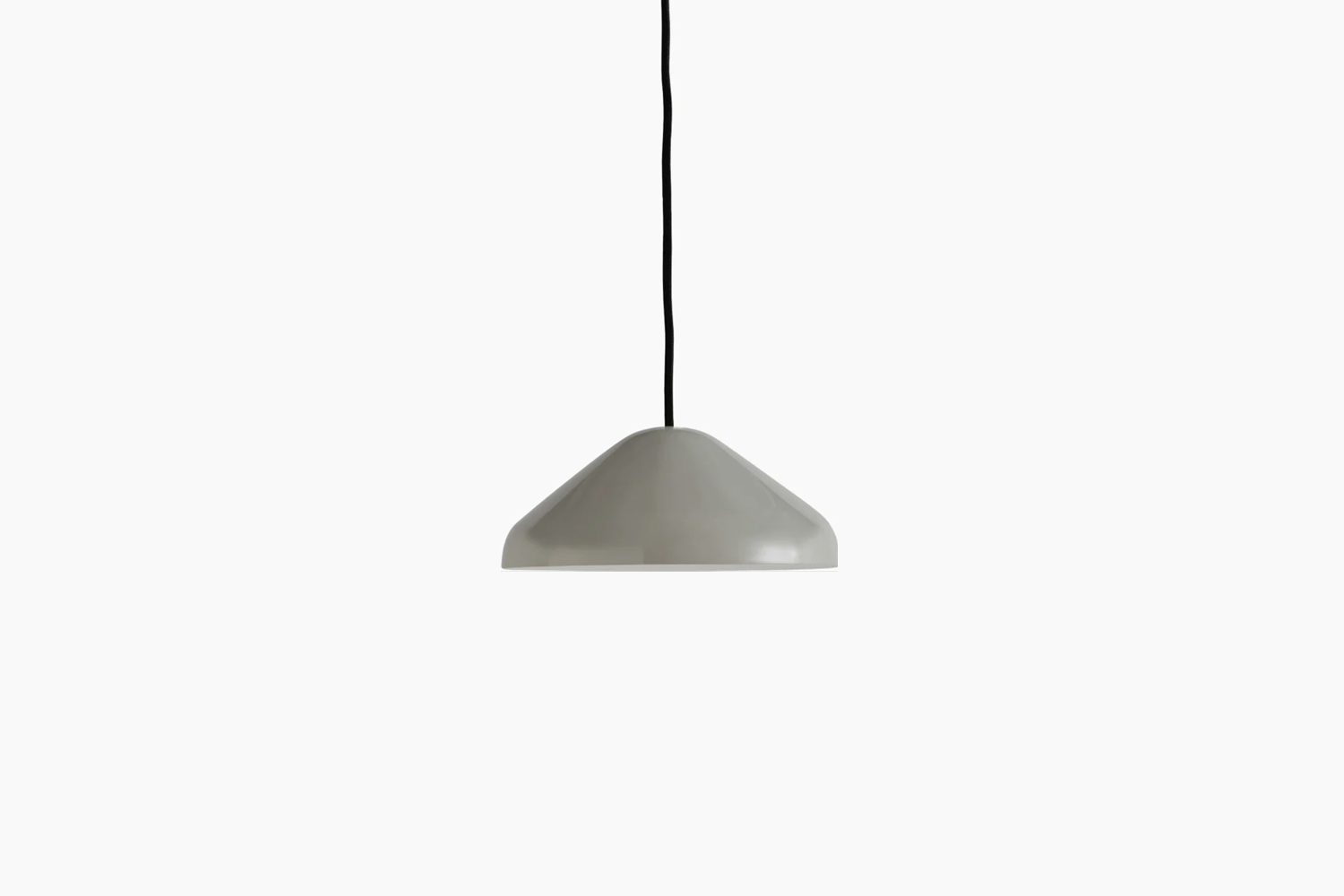 the pao steel pendant light comes in three colors for \$\145 each at design wit 15