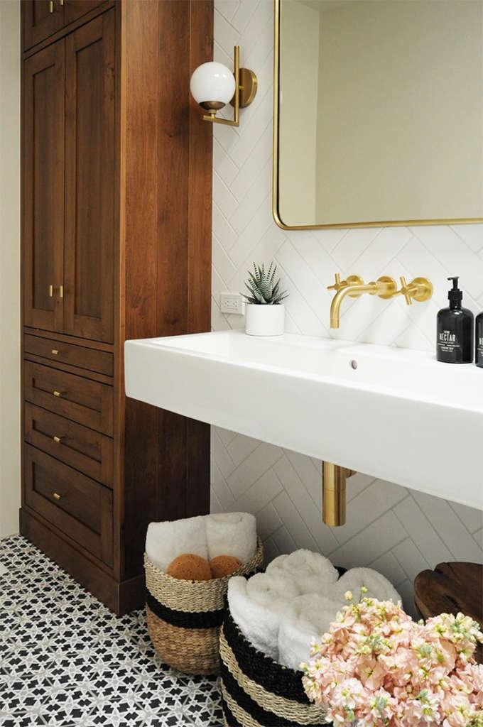 Bright + Modern Santa Fe Bathroom 2 - Built Design Collective
