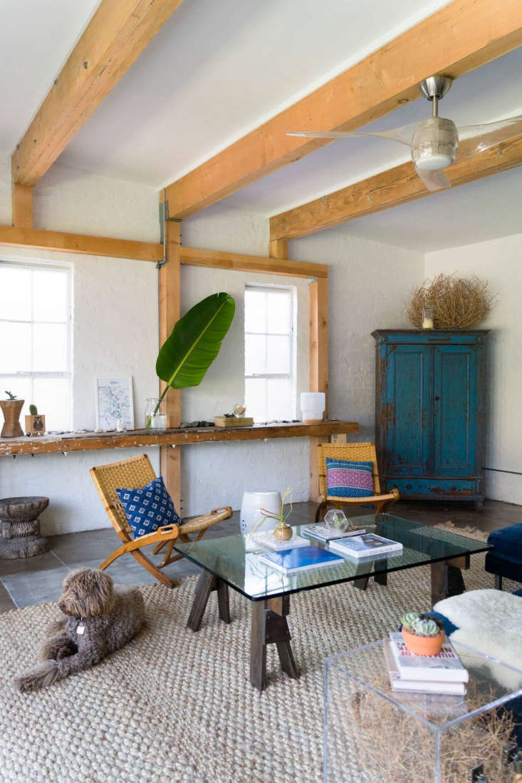 A stylish LA guest house, renovated on a budget.