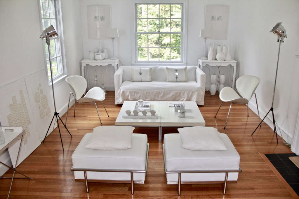 Warm White Living Room In The Suburbs Of Boston Remodelista