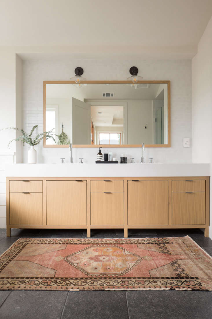 Best Professional Bath:Modern Farmhouse Master Bathroomin Campbell, California, by Megan Bachmann Interiors.